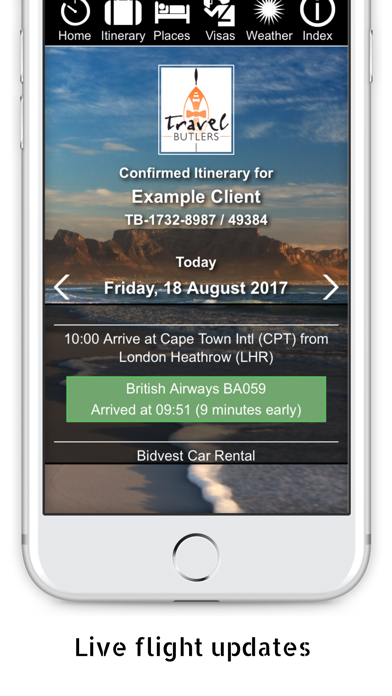 Travel Butlers Guest App 3