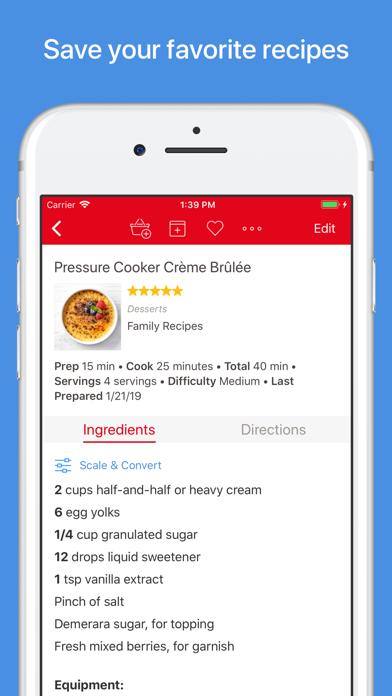 Paprika Recipe Manager 3 Screenshot