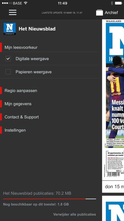Het Nieuwsblad Krant screenshot-5