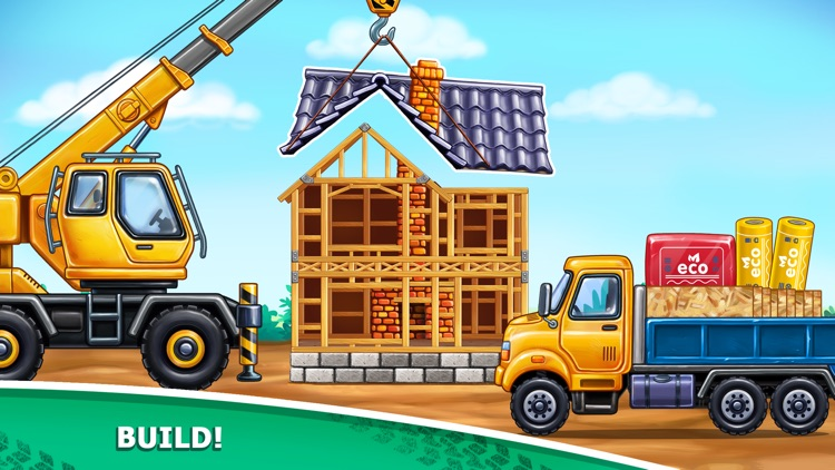 House Building a Tractor Games screenshot-3