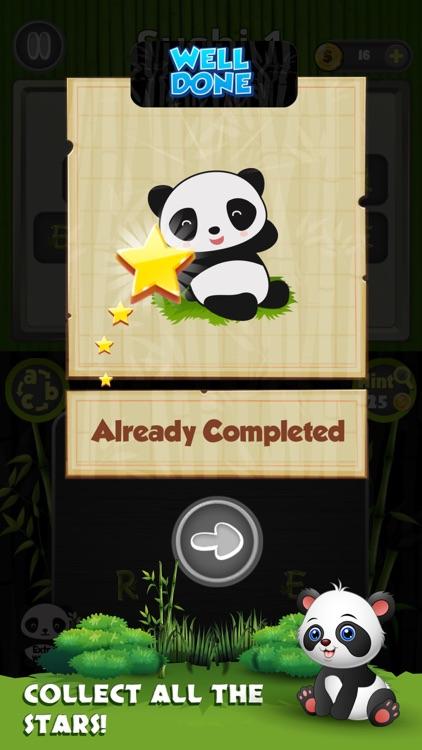Panda Cross Word Puzzle screenshot-3