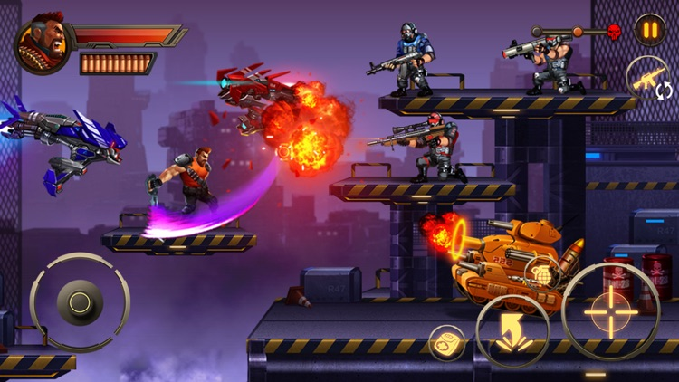 Metal Squad: Shooting Game screenshot-5