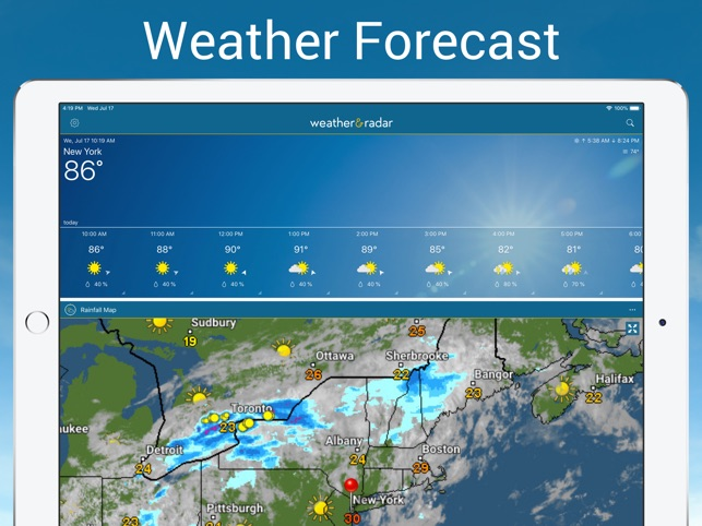 ‎Weather and Radar Pro
