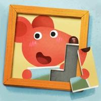 小老鼠哆哆的画廊-儿童拼图游戏