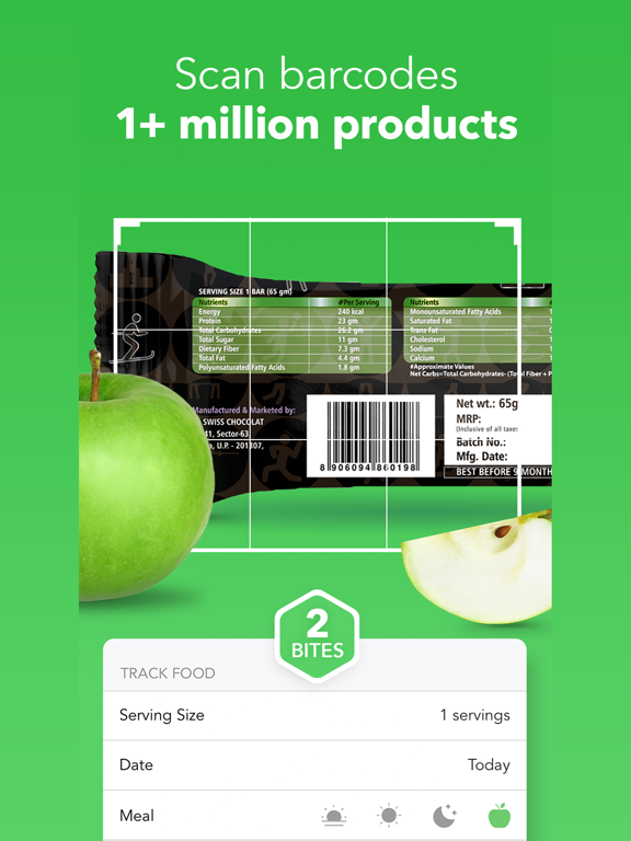 iTrackBites: Track your Diet - Revenue & Download estimates - Apple