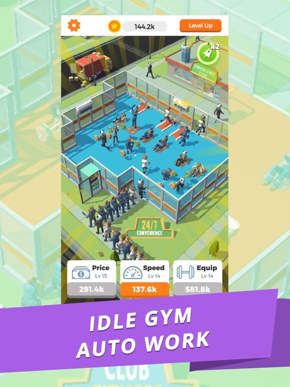 Idle Gym - Fitness Simulation screenshot 5
