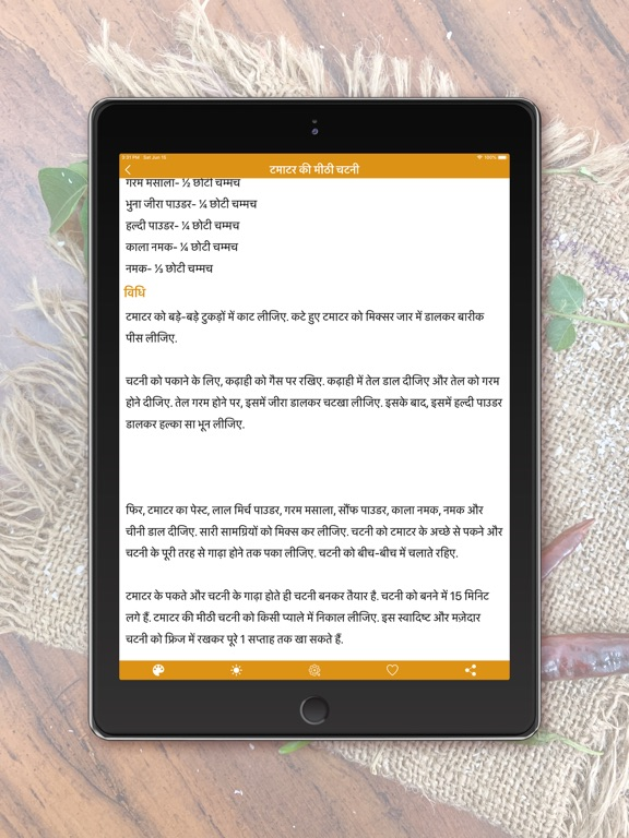 Chutney Recipes - Hindi screenshot 7