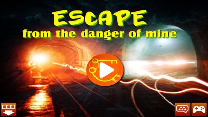 Escape from the danger of mine screenshot one