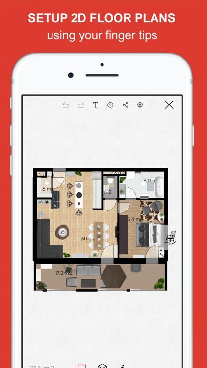 Roomle 3D & AR room planner screenshot-0