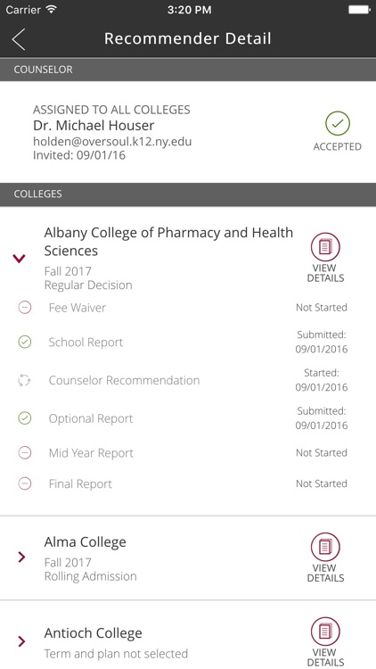Common App On Track screenshot-3