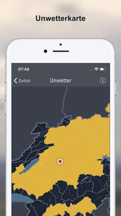 Wettervorhersagen Schweiz screenshot-5