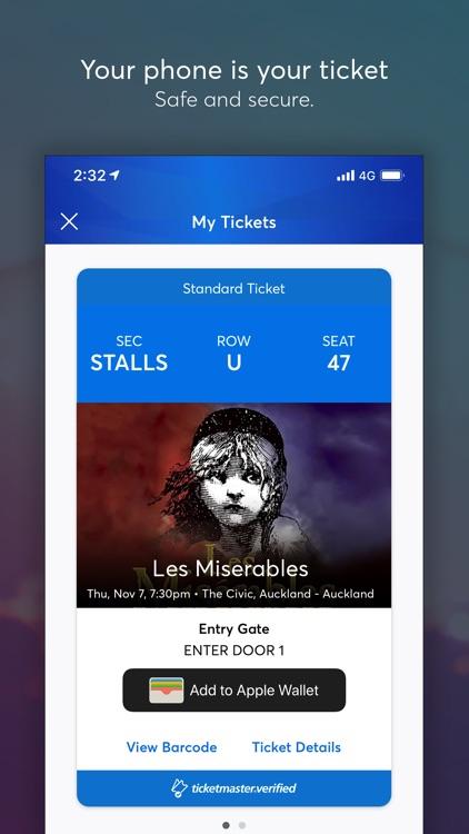 Ticketmaster NZ screenshot-3