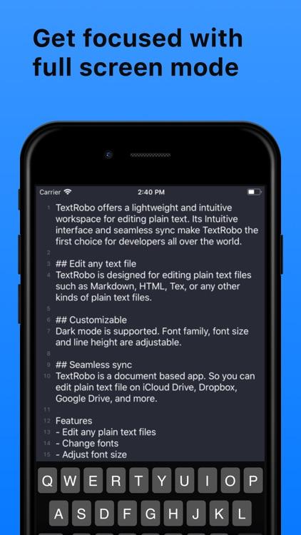 TextRobo screenshot-4