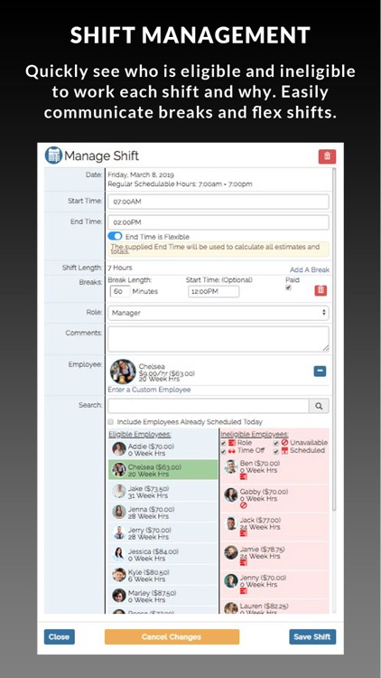 SHIFTR Employee Scheduling screenshot-3