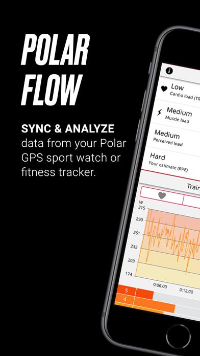 messages.download Polar Flow software
