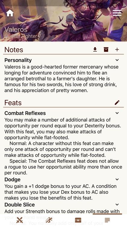 Fight Club PFRPG/3.5 Edition screenshot-6