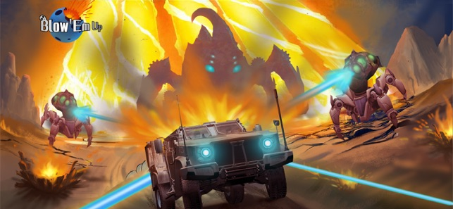 Blow Em Up, game for IOS