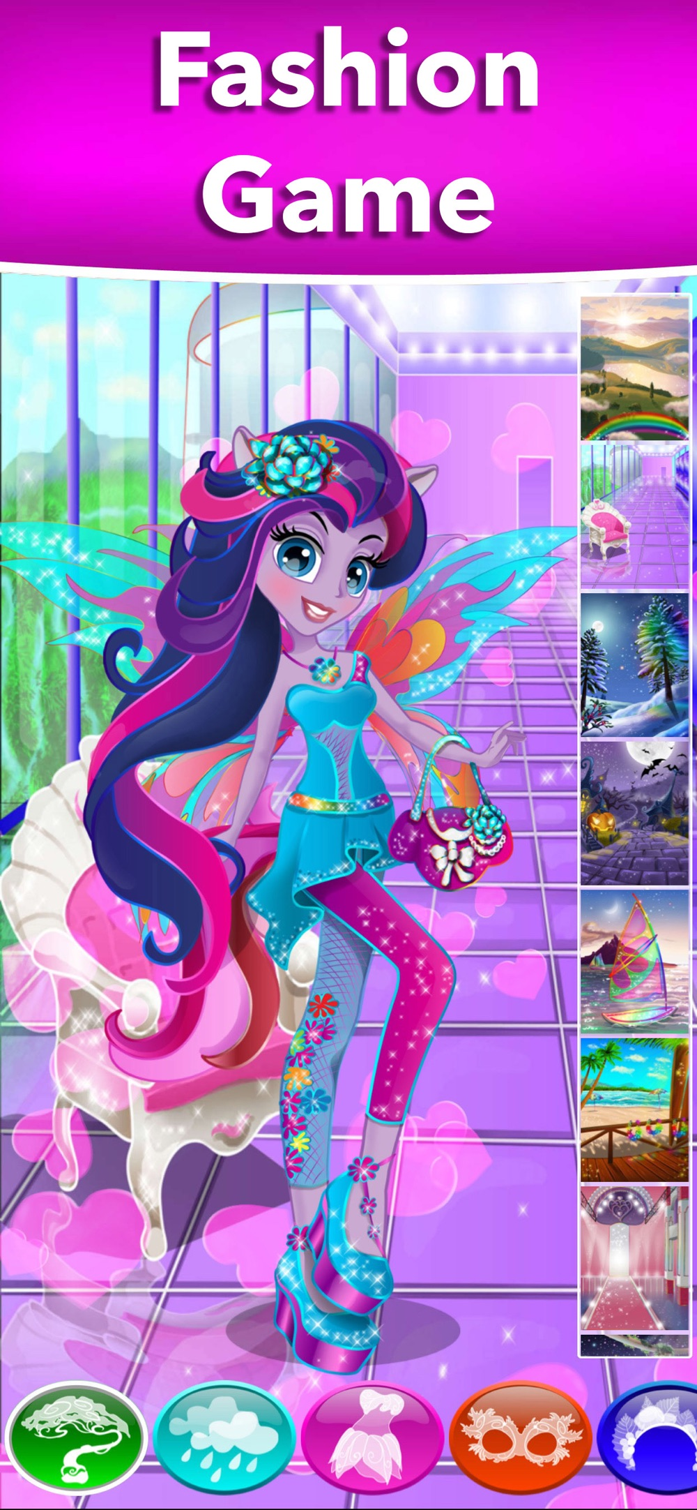 Pony Dolls Dress Up Games hack tool