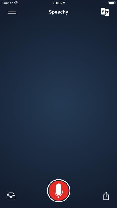 Voice Dictation - SpeechyScreenshot of 7