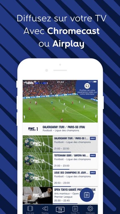 RMC Sport – Live TV, Replay screenshot-4