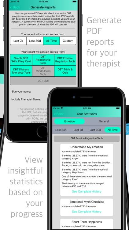 DBT Emotion Regulation Tools screenshot-8