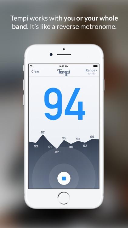 Tempi – Live Beat Detection screenshot-0