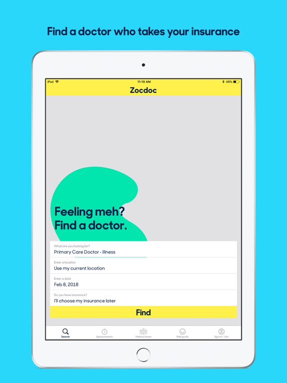 Zocdoc: Find Local Doctors - Revenue & Download estimates
