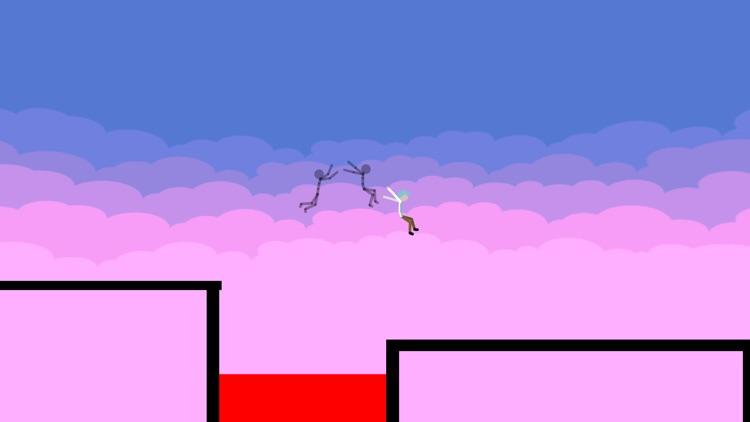Stickman Parkour - Ninja Race screenshot-3