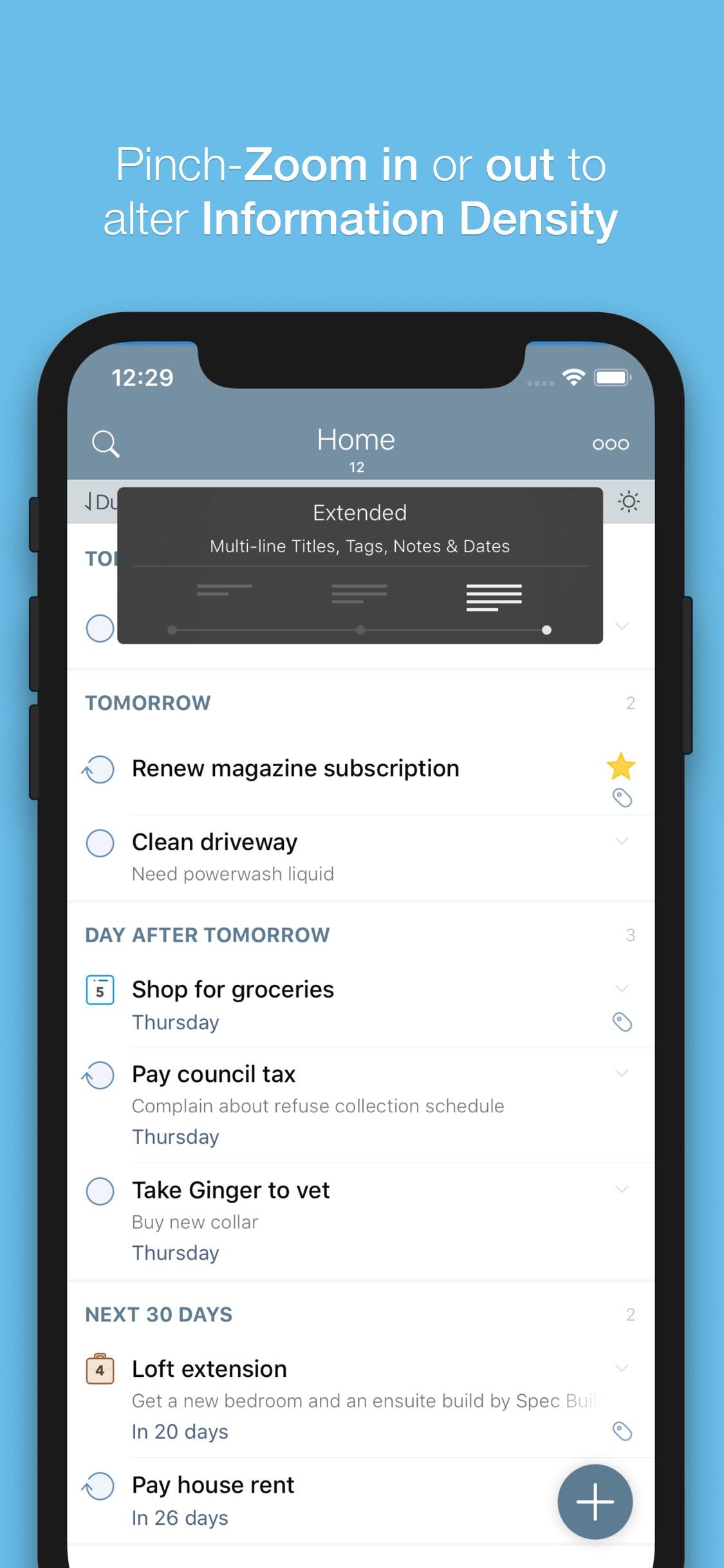 Screenshot do app 2Do - Todo List, Tasks & Notes