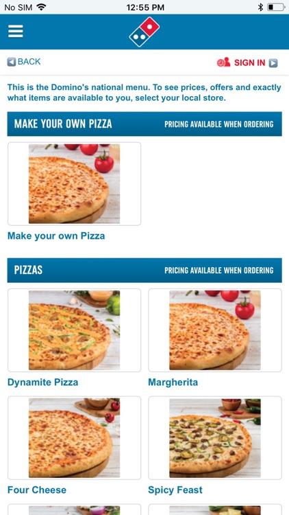دومينوز بيتزا Domino's Pizza