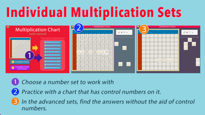 Multiplication Working Charts screenshot 5