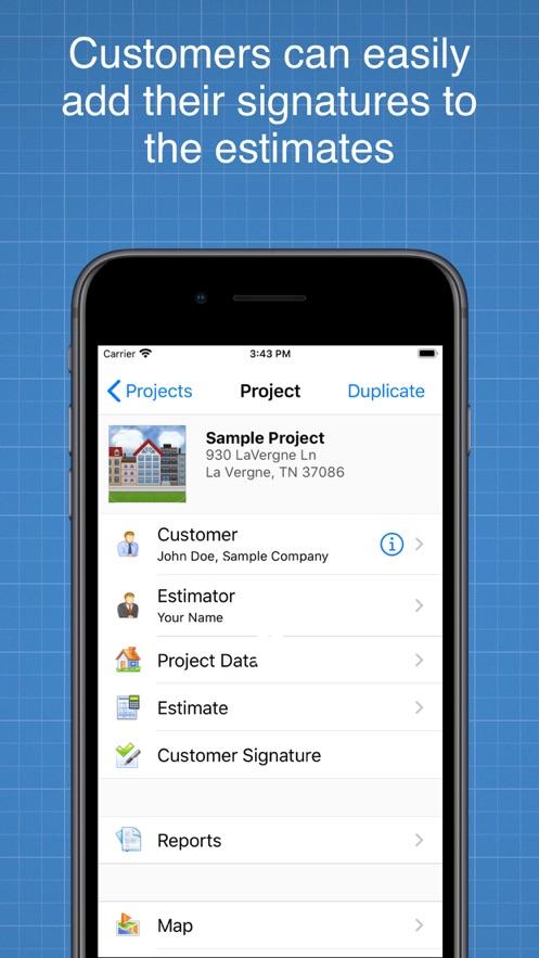 Construction Cost Estimator App 截图