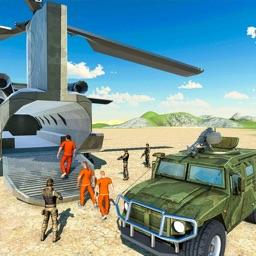 Army Prison Transporter Plane