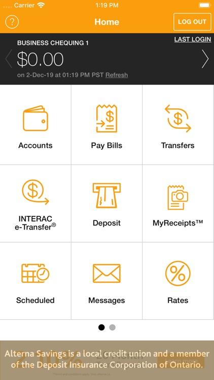 Alterna Savings Mobile