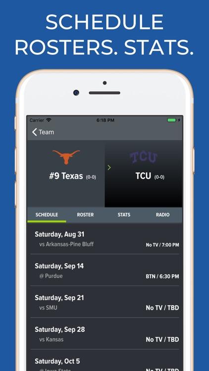 UT Texas Football screenshot-9