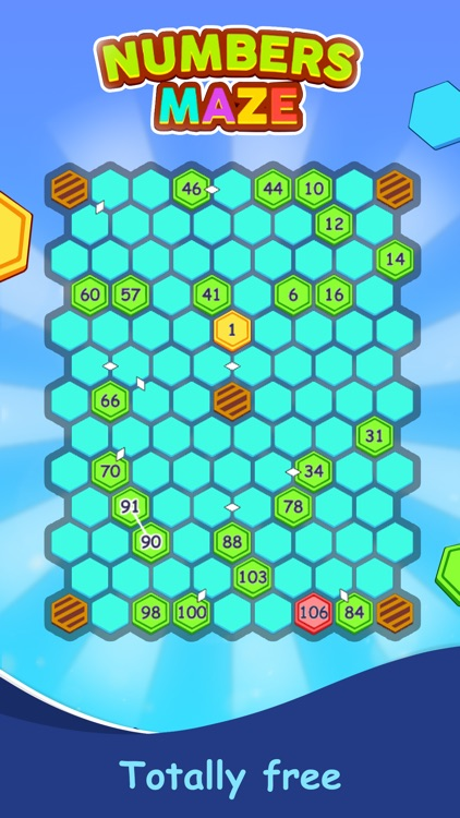 Numbers Maze Puzzle screenshot-5
