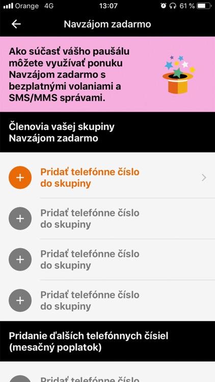 Môj Orange screenshot-3