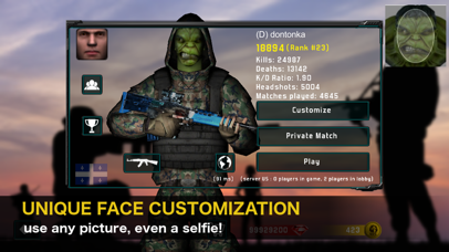 Screenshot from Natural Born Soldier