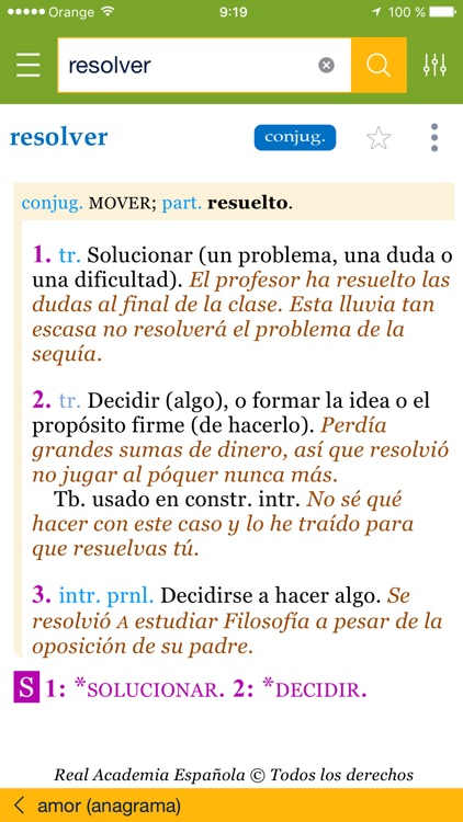 Diccionario del estudiante