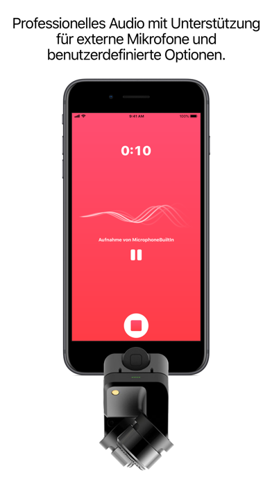 Screenshot for Just Press Record in Germany App Store