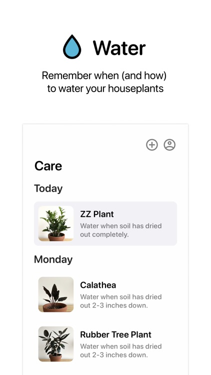 Houseplants App
