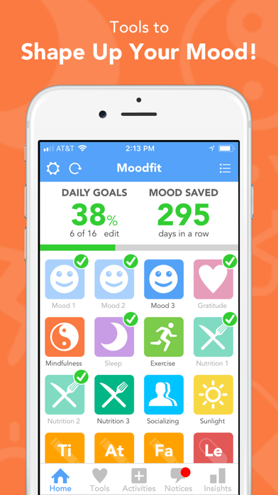 Moodfit – Shape Up Your Mood