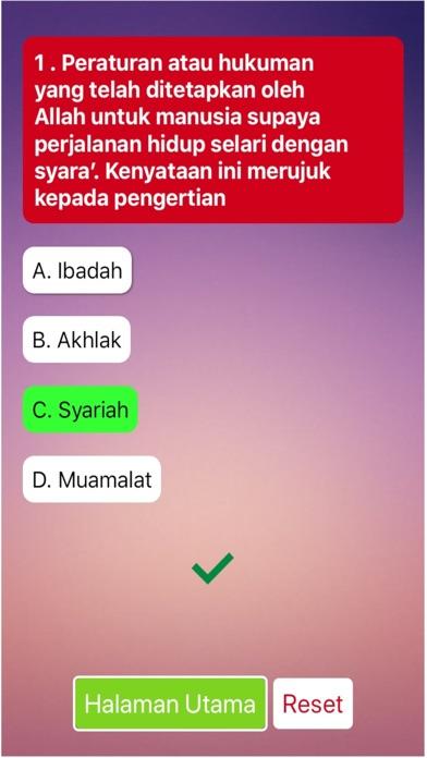Screenshot for TBE Takaful Exam - BM in United States App Store