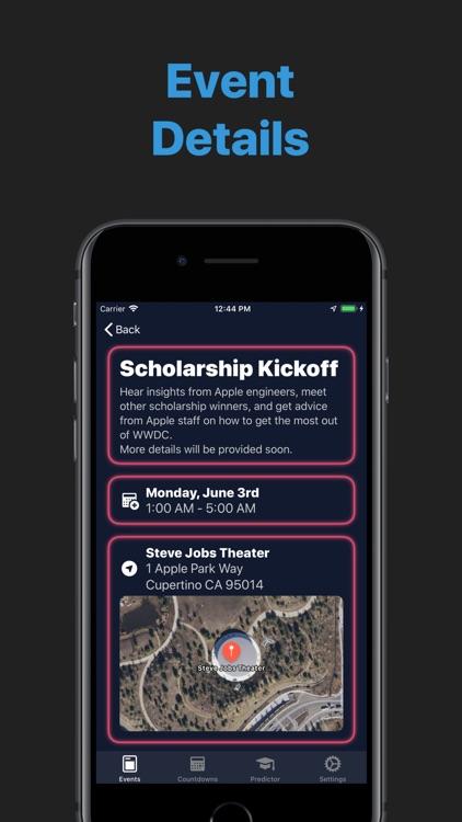 Events near WWDC (DubDub+)