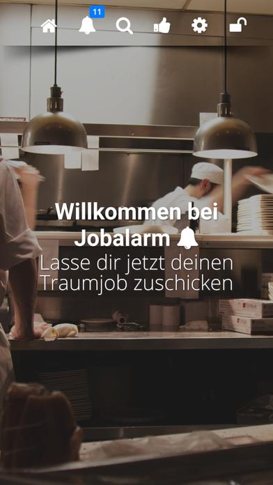 Jobalarm GastroScreenshot von 1