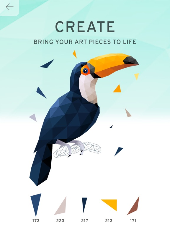 Poly Island: Coloring Art Book на iPad
