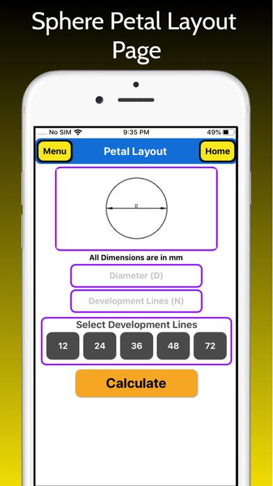 Petal Layout screenshot 2