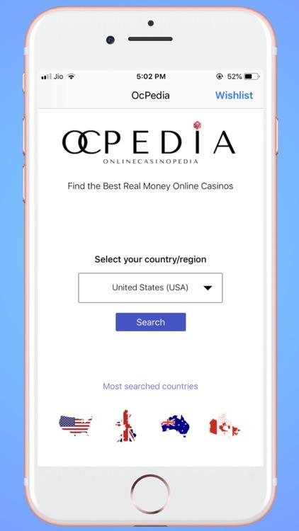 OCPedia: Online Casino Finder screenshot-3
