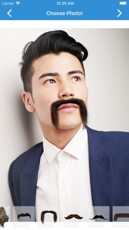 Mustache Photo screenshot-3