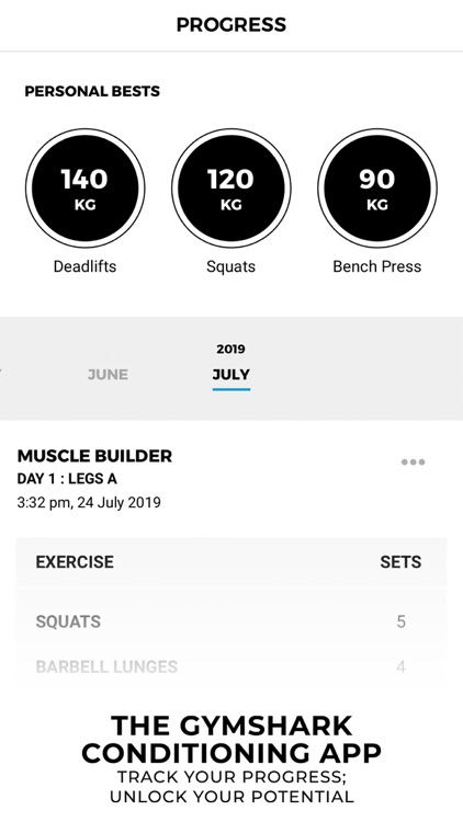 Gymshark   Gym Workout Planner screenshot-4